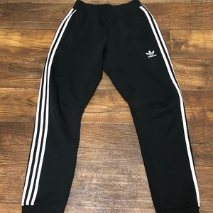 Adidas trefoil sweatpants